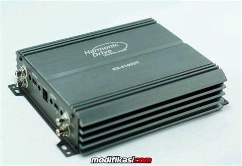 baru power 4 channel monoblock harmonic drive tech