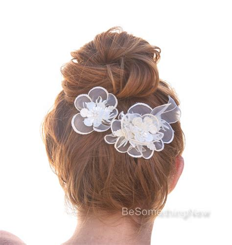 vintage flower wedding hair accessories vintage lace wedding headpiece flower hair accessories