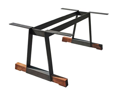 steel base 1 small for live edge table home furnishings