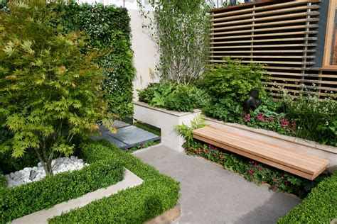 back yard design award winning eco chic garden rhs gold medal 09 designed
