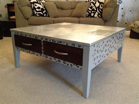how to paint coffee table painted coffee table is like modern fashion coffee table