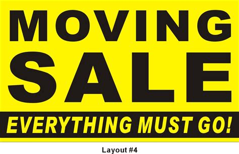 3 Into 1 Must Go by 3ftx5ft Moving Sale Everything Must Go Banner Graphics