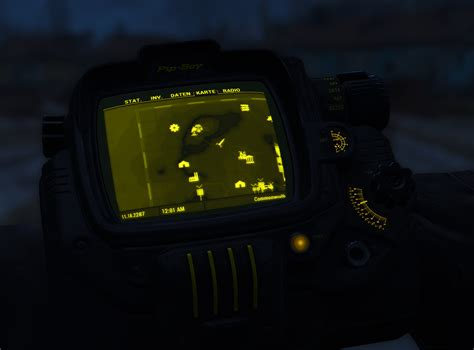 Pip Boy Light by Black Pip Boy With Colored Details Mod