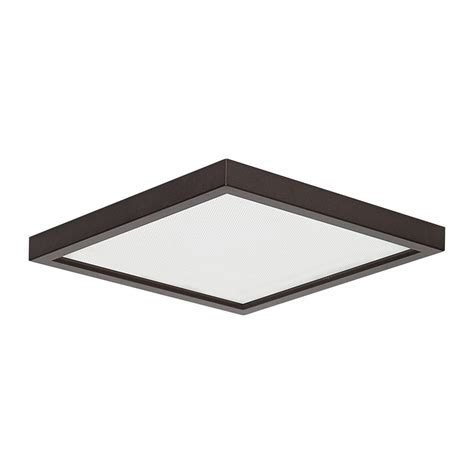 square led light fixtures shop amax lighting led sm8dl led slim square flush mount