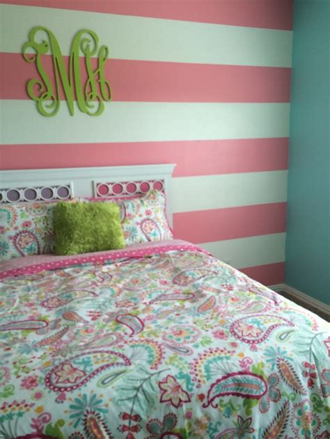 lime green and turquoise bedroom tatums bedroom almost finished turquoise wall as with