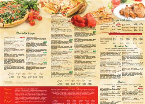 Winghouse menu for sarpino s pizza 100 e broward blvd a104 106