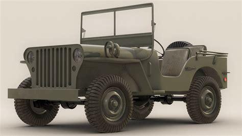 willys army jeep willys army jeep 3d obj
