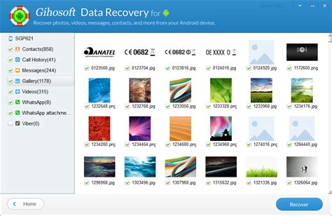 data recovery for android gihosoft android data recovery pro backup and restore software