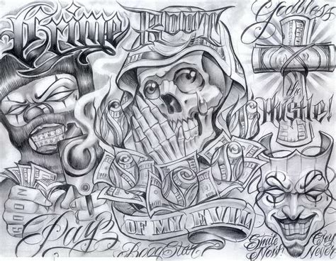 The Gallery For Gt Chicano Style Tattoo Art Chicano Flash
