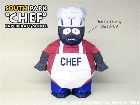 South Park Papercraft - 3d papercraft south park models by ninjatoespapercraft on