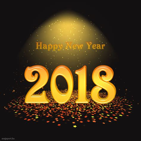 happy new year 2018 happy new year 2018 gif animation megaport media