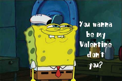 spongebob valentines day cards happy s day from spongebob har har har