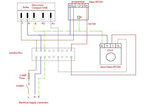 salus wireless room thermostat wiring diagram wiring diagram