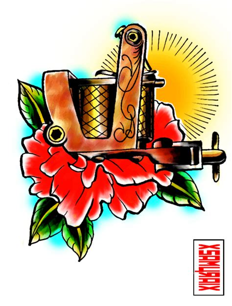 tattoo machine designs plans paul rogers machine by xfreakcorex on deviantart