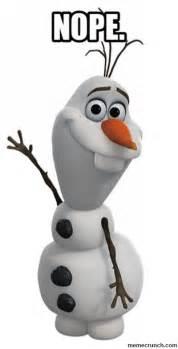 Olaf Meme - olaf nope