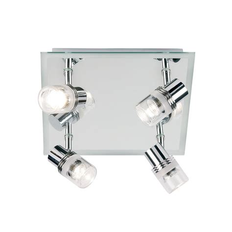 Enluce Bathroom Lighting Enluce Mirrored Bathroom El 174 4 Light Flush Ceiling