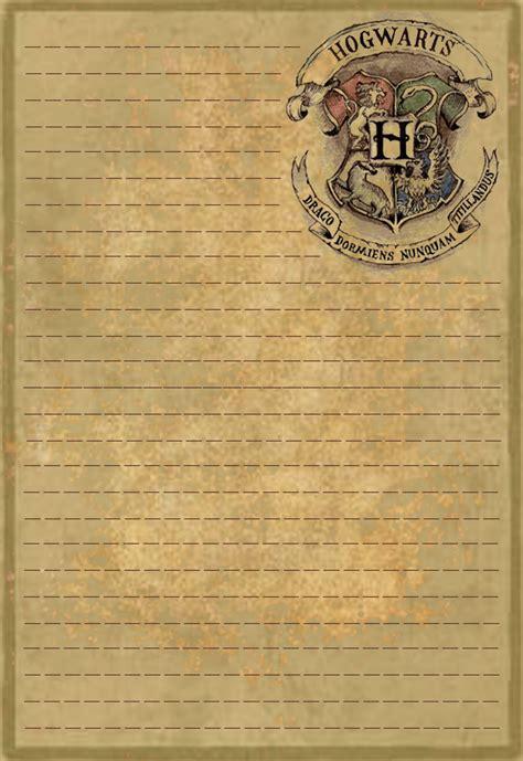 Hogwarts Acceptance Letter Paper hogwarts letterhead stationery by sinome on deviantart