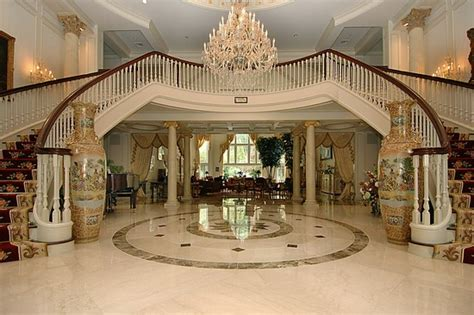 mansion foyer kimora lee s mansion sold pricey pads