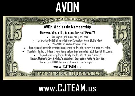 avon membership avon wholesale membership more than makeup