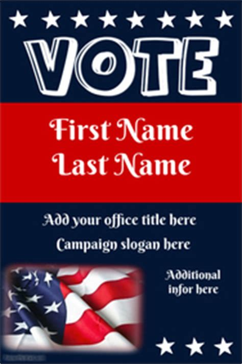 election caign poster template caign poster templates postermywall