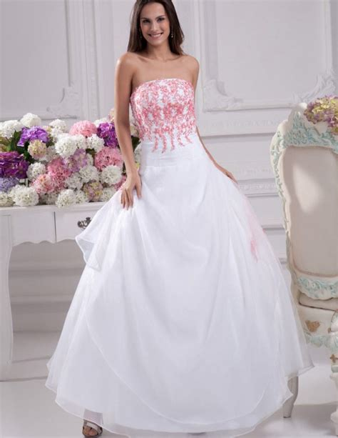 pink and white dress wedding dresses pink and white update may fashion 2018