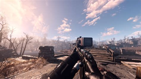 fallout 4 recon scope better reconscope fallout 4 fo4 mods