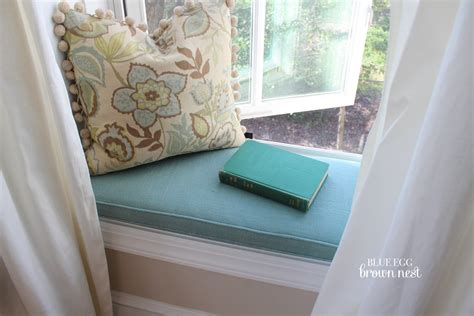 window seat cushion pads window seats