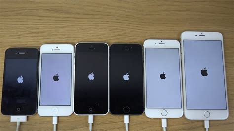 ios 8 1 1 beta iphone 6 plus vs 6 vs 5s vs 5c vs 5 vs 4s which is faster