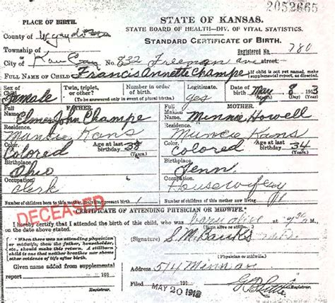 State Of Kansas Birth Records Hawaii Guv Can T Find Obama Birth Certificate