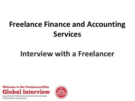 freelance finance and accounting services