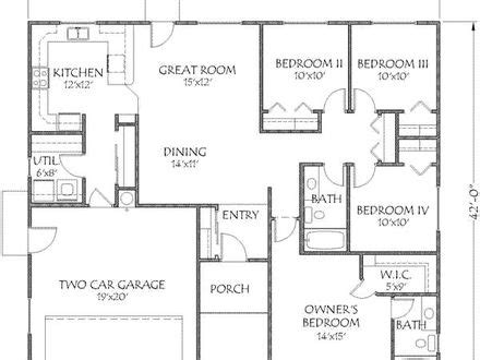 1500 sq ft bungalow floor plans small craftsman style cottages small craftsman style house