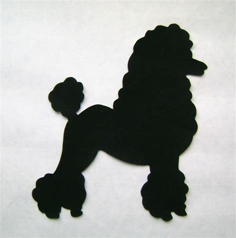 poodle applique template poodle applique