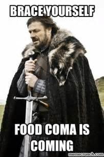 Food Coma Meme - food coma