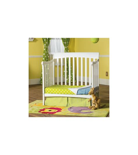 Child Craft Ashton Mini Convertible Crib In Matte White Mini Crib Sale