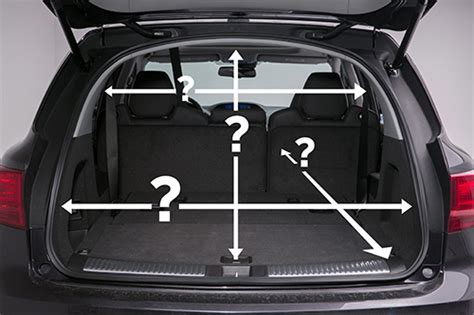 acura mdx interior dimensions why cargo specs can stretch the reality just car news