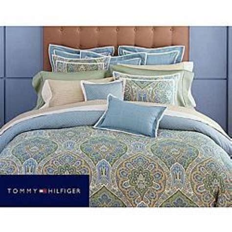 tommy hilfiger jeweled tapestry king comforter cover set