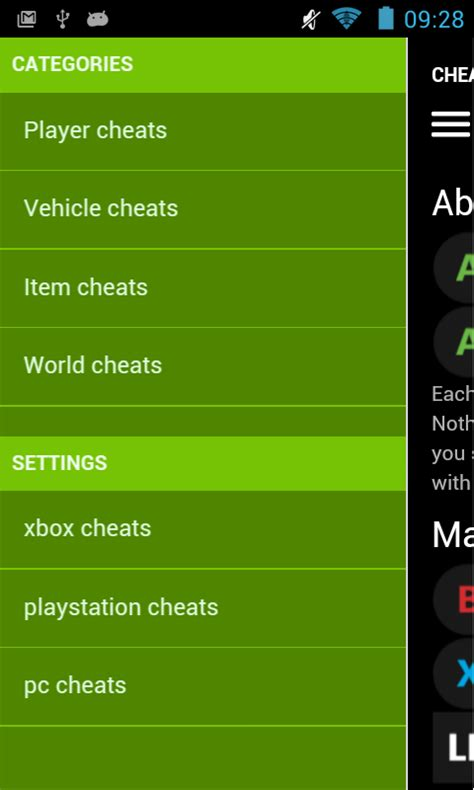 cheats app for android codes for gta v android apps on play
