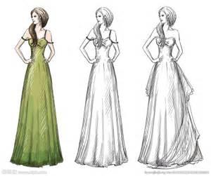服装设计手稿图 服装设计手稿图女装 简单服装设计手稿 qq百科网