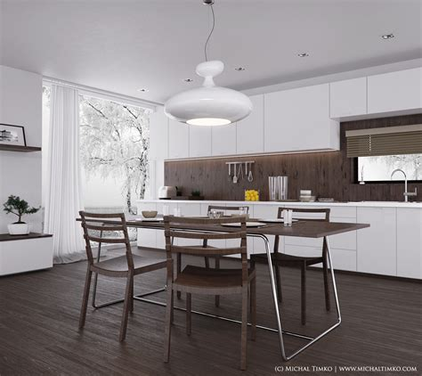 modern style kitchen designs - Contemporary Style Kitchen