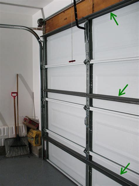 Garage Door Horizontal Strut 16 Steel Horizontal Garage Door Support Strut Wageuzi