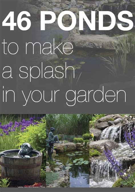 how to make a small pond in your backyard pond ideas melissa haynes s clipboard on gardens