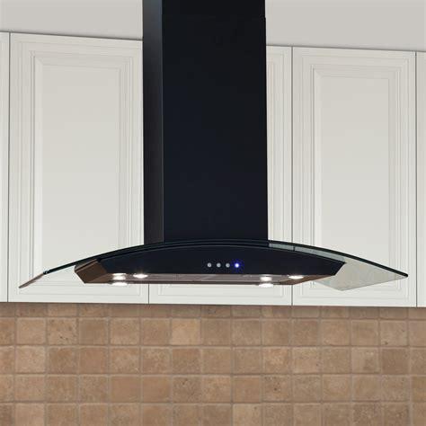 black stainless steel under cabinet range hood 30 quot fente series stainless steel black under cabinet range