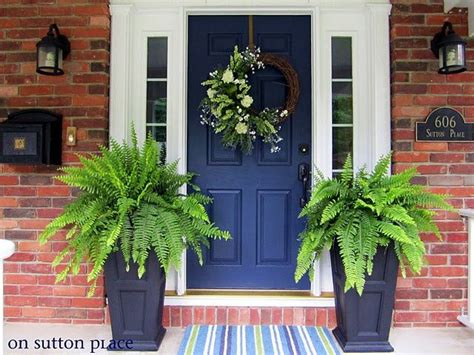 door colors for red brick houses what are the best paint colours for a front door brick
