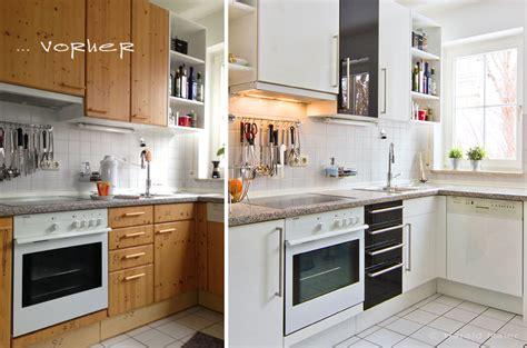 Ikea Faktum Fronten Wechseln by Vorher Nachher K 252 Chen Vorher Nachher