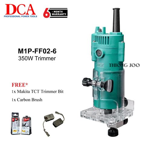 buy dca m1p ff02 6 trimmer 6mm 1 4 malaysia