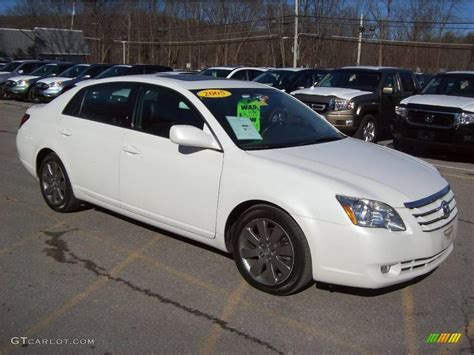 2005 Toyota Avalon Limited 2005 Blizzard White Pearl Toyota Avalon Limited 25581143