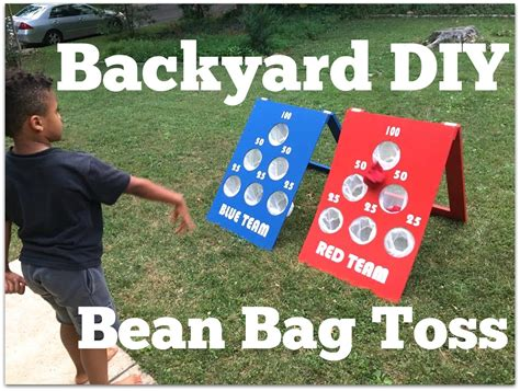 diy bean bag toss how to make a diy backyard bean bag toss