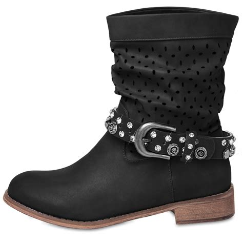 boot straps caspar womens boot accessory with rheinstones and