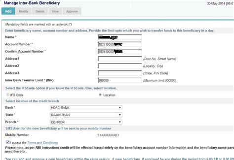 sbt bank net banking sbi net banking form pdf