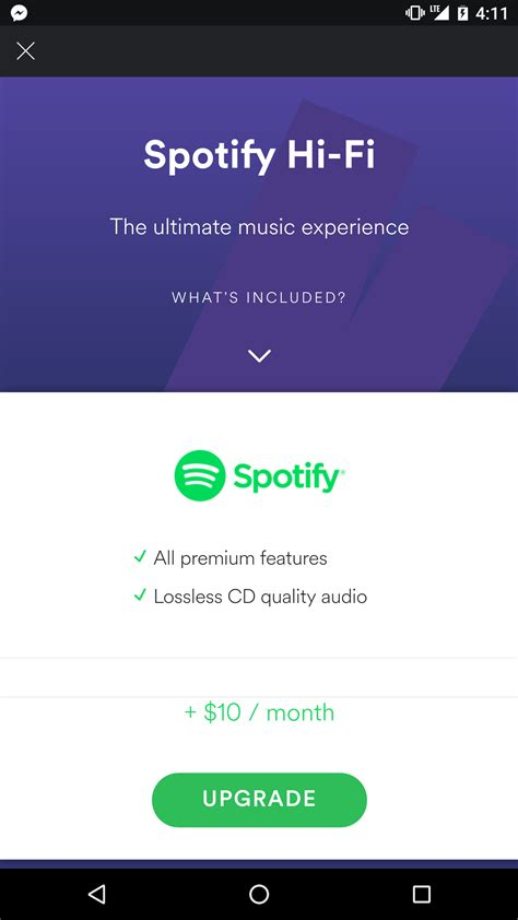 Spotify Find Spotify Hi Fi Service To Offer Lossless Audio